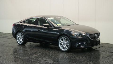 Certified Pre-Owned 2016 Mazda6 i Touring W/Moon Roof and Bose Sound System