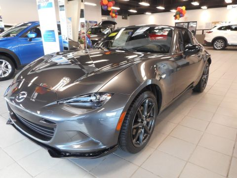 Certified Used Mazda MX-5 Miata RF Club w/Naviagtion